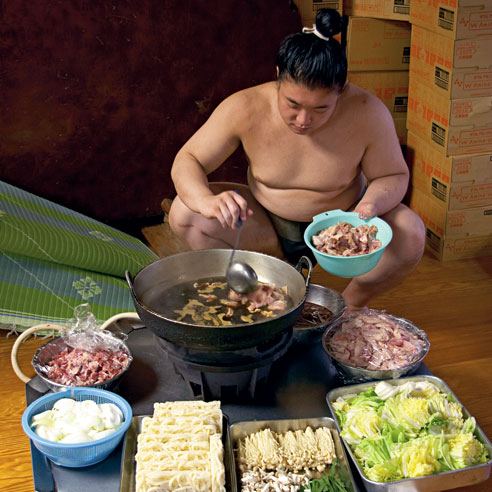sumo wrestler stew chanko nabe one example of chankonabe sumo chanko ...